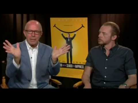 """Simon Pegg and Peter Chelsom  for """"Hector and the Search for Happiness"""""""