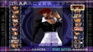 KOF マキシマムインパクトManiax(ストーリーモード)