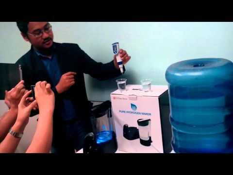 Molecular Hydrogen Water Maker Demo-0915.929.3980