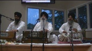 Gurbani Shabad Kirtan - Bhai Surinder Singh Ji Jodhpuri -  Live Recording at Wheaton - 25 Aug 2013