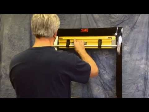 R O M Roll Up Door Weather Stripping Installation Youtube