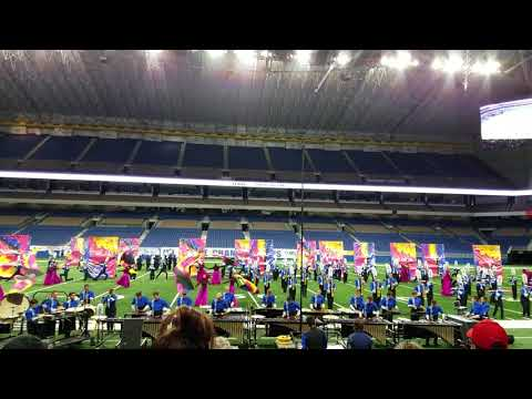 RHS Marching Band in Finals at Texas UIL State Championships