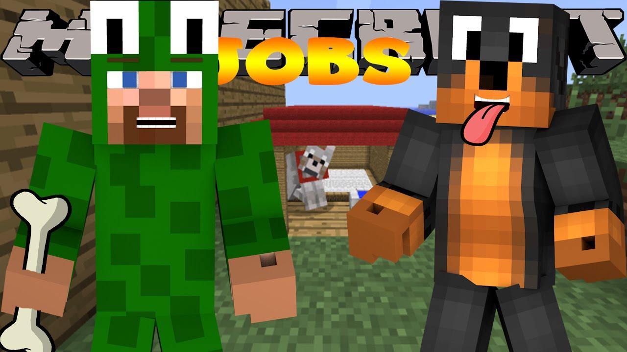 Training Dogs Minecraft