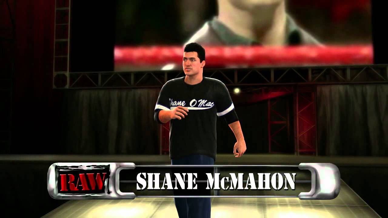 Shane McMahon makes his entrance in WWE '13 (Official ...