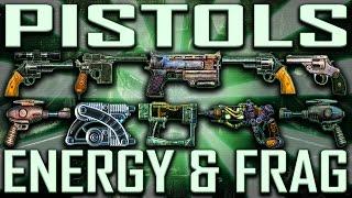 Pistols - Fallout 3 - Rare & Unique (Includes DLCs)