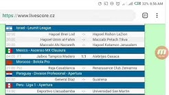 Today's football fixtures and LiveScore results from LiveScore cz official HD video 2020