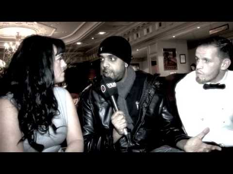 BOXER JAMIE WOOD & TRACEY WOOD INTERVIEW FOR iFILM LONDON / ROBERT BURNS CELEBRATION BOXING DINNER