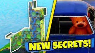 6 NOUVELLES EASTER EGGS - SECRETS in Fortnite: Battle Royale! (NOUVELLE MISE À JOUR DE LA CARTE)