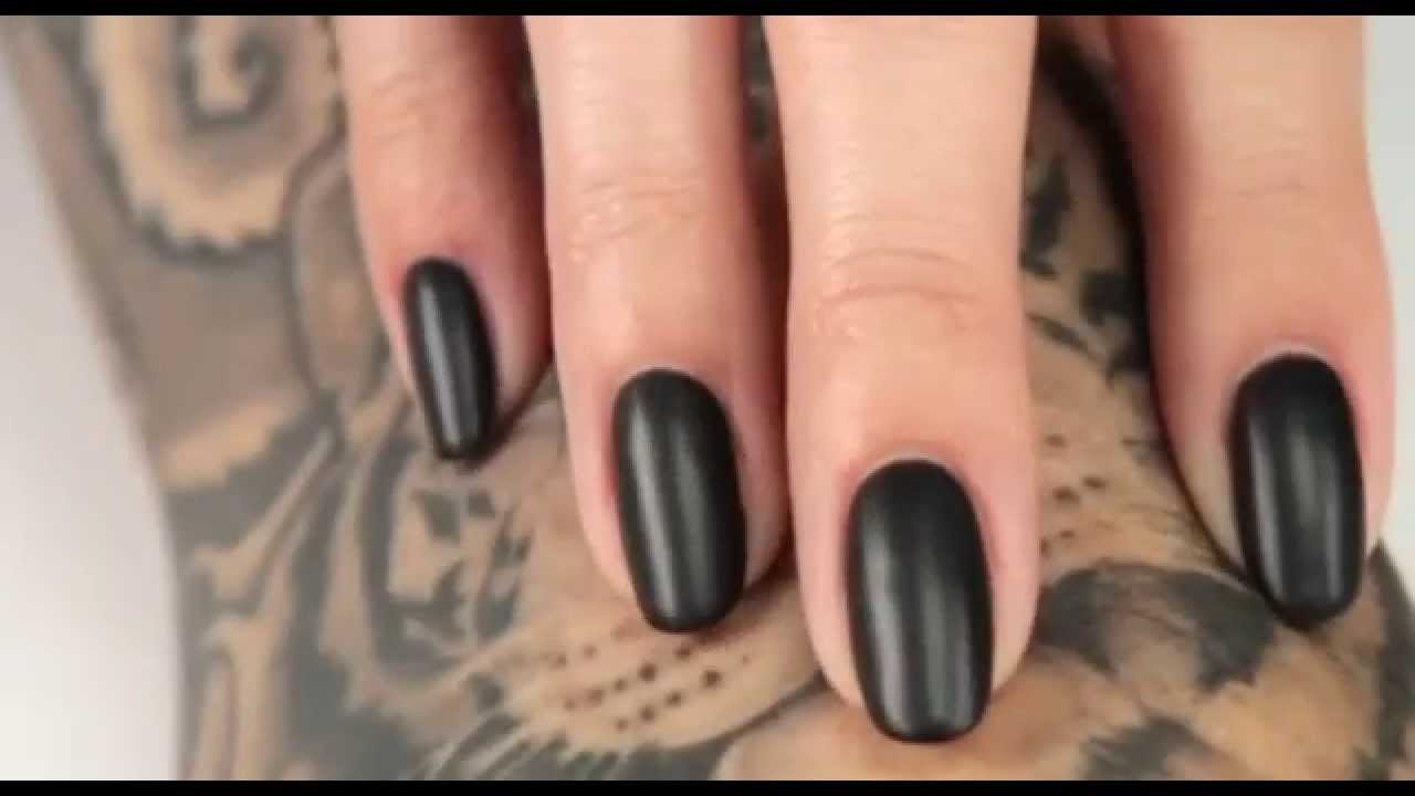 OPI Professional GelColor Matte Top Coat - YouTube