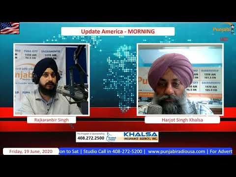 Update America 19 June 2020 Morning News