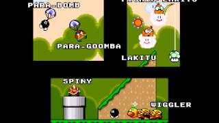 Super Mario World - Star Road Ending - Vizzed.com GamePlay - User video
