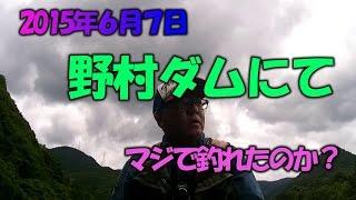 2015年6月7日の野村ダムバス釣り情報