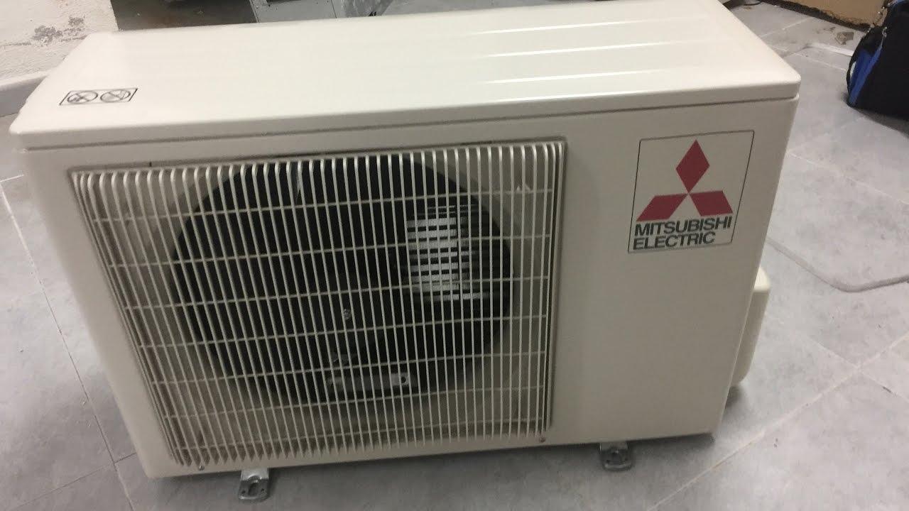 despiece unidad exterior aire acondicionado mitsubishi