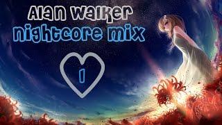 Alan Walker Nightcore Mix #1