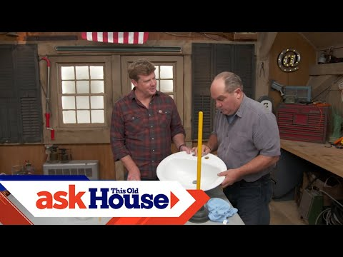 New Solutions to Unclog Sinks   Ask This Old House