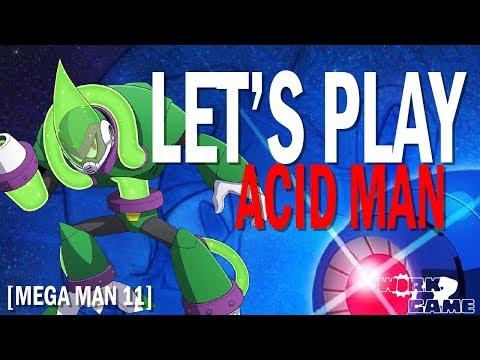 Let's Play Mega Man 11 - Acid Man Goes Down! [Stream Highlight with Brian] - 동영상