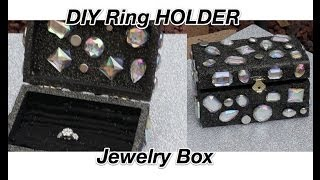 Diy Jewelry Box /ring Holder  **holiday Gift Idea**