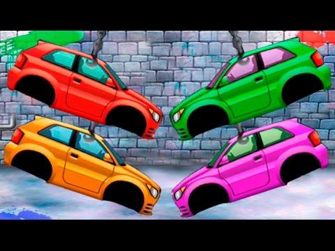 Мультфильм как собирают машины