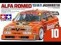 Scale model Tamiya ALFA ROMEO 155 V6 TI JAGERMEISTER PART 10
