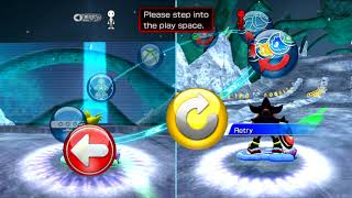 Sonic Free Riders - Red hot calibration rage caused by unnecessary restraints of evil