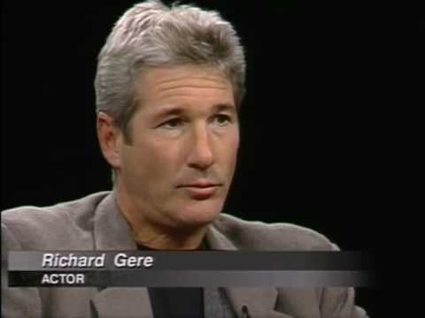 Richard Gere Job İnterview On Charlie Rose 1997 & 1999