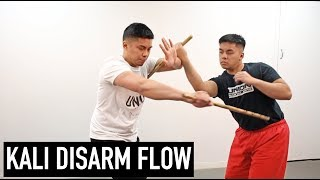 Kali Stick Disarm Flow