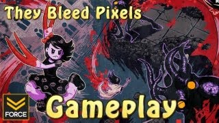 They Bleed Pixels (Gameplay)