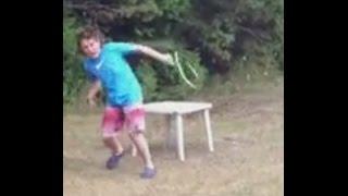 Snake Bite Brave Boy !