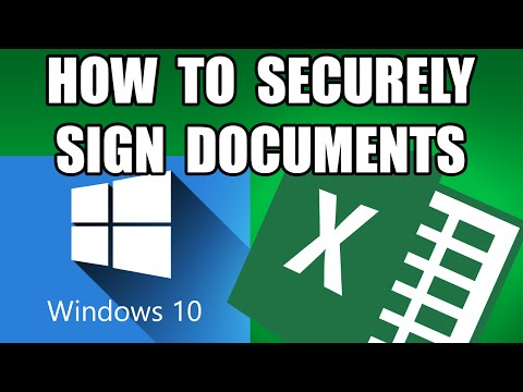 digital certificates for document signing - multiple signatures