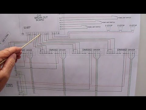 CNC wiring diagram - YouTube on