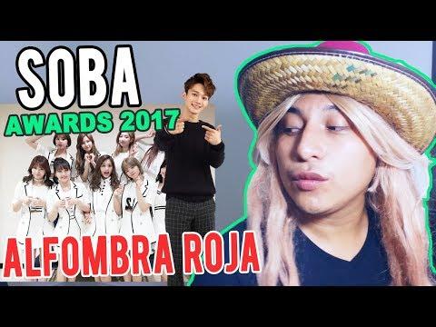 SORIBADA Music Awards 2017:  Alfombra Roja // SOBA AWARADS 2017 // Shiro  No Yumer