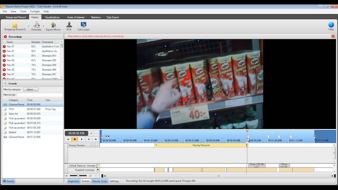 Eye Tracking Software - Tobii Studio 3 2 Highlights