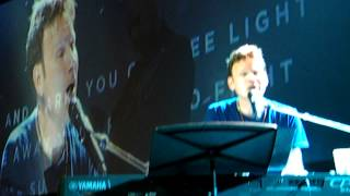 Entire Corey Hart appearance in Fort McMurray 11/1/2014