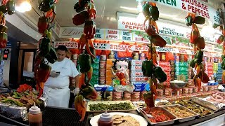 ⁴ᴷ Walking Tour of the 2018 Feast of San Gennaro in Little Italy, Manhattan, NYC