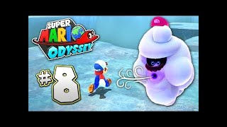 SUPER MARIO ODYSSEY Part 8 - SNOW KINGDOM - AWESOME MINI GAME!