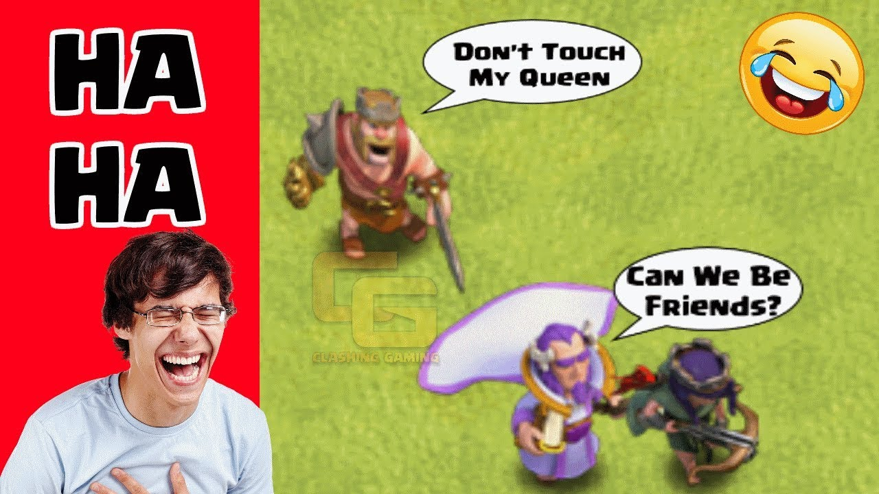 Clash Of Clans Funny Moments Trolls Compilation 9 Coc Montage