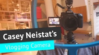 Casey Neistat's Vlogging Camera Equipment (DSLR, Lenses, Mic)