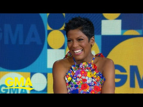 Tamron Hall discusses giving birth at 48  on &39;GMA&39;