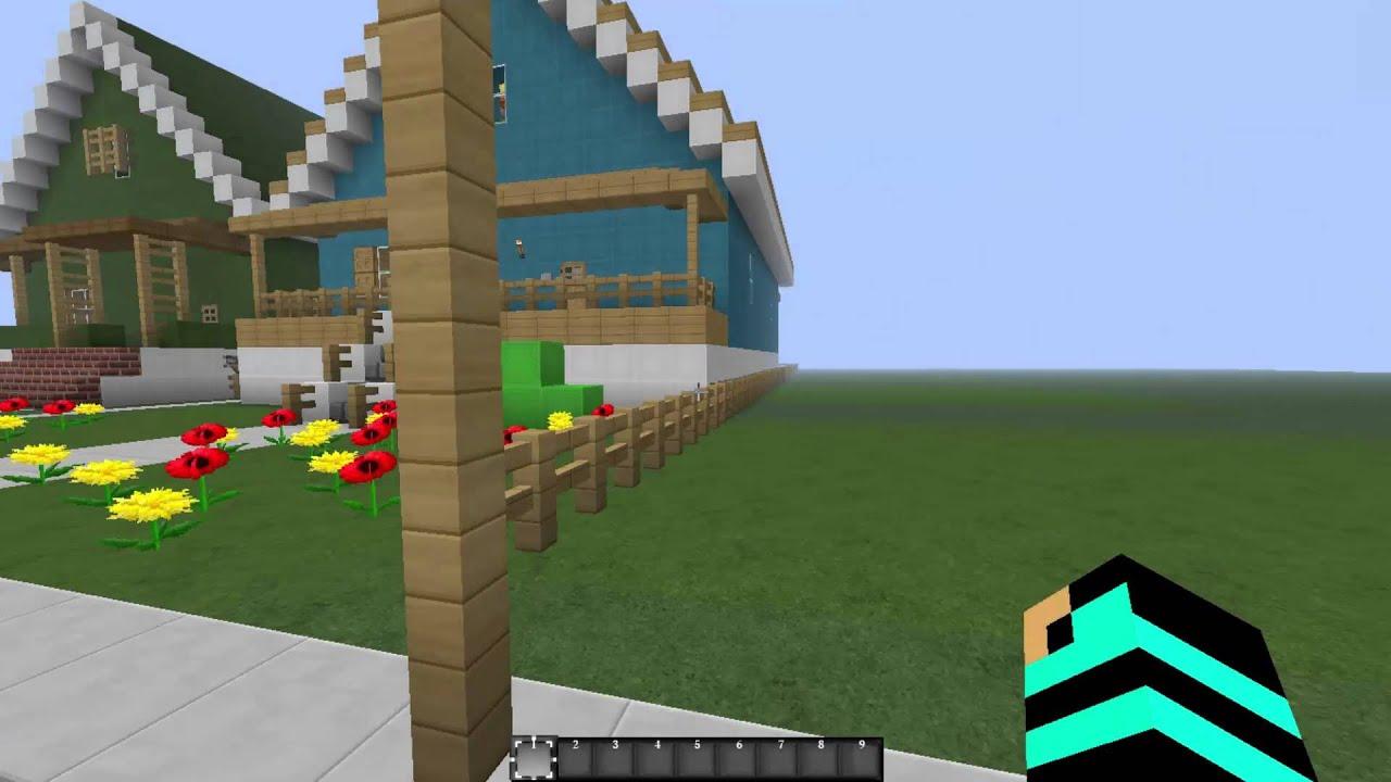 Minecraft Çizgi Film Haritaları/Gumball/Bölüm-1