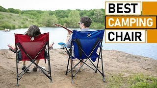 Best Folding Camping Chairs   Most Comfortable Camping Chairs