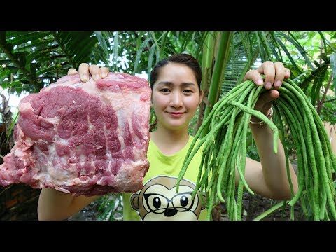 Yummy Pork Rib Sour Soup Cooking With Long bean – Pork Rib Sour Soup Cooking – Cooking With Sros