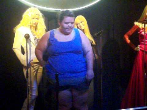 Karaoke+Haley= Hilarious.