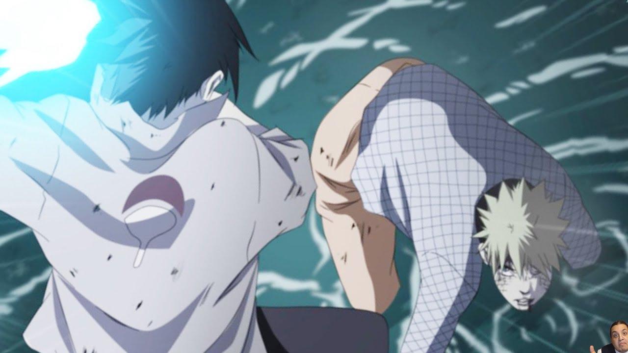 Naruto 697 Manga Chapter ナルト Review -- Naruto Vs Sasuke