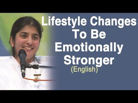 Lifestyle Changes To Be Emotionally Stronger: BK Shivani (English)