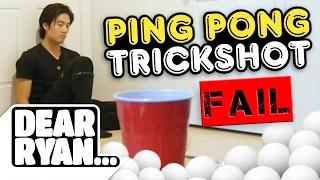 Download Ping Pong Trickshots! (Dear Ryan) Mp3 and Videos