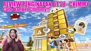 REVIEW PENGINAPAN BT 21- CHIMMY!! OMG..CUTE BANGET GUYS!! SAKURA SCHOOL SIMULATOR - PART 395