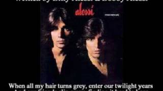 Alessi Brothers - As Long As I Still Have You ( + lyrics 1979)