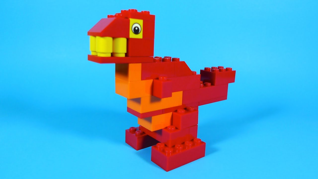 How To Build Lego DINOSAUR - 4630 LEGO® Build & Play Box Building ...