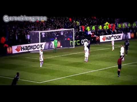 Gol de Samuel Umtiti - Tottenham 1 - 1 Olympique de Lyon. 14/02/2013