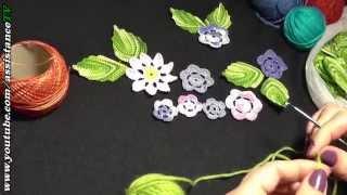 Вязание крючком / Столбик без накида и Воздушная петля - Урок 1